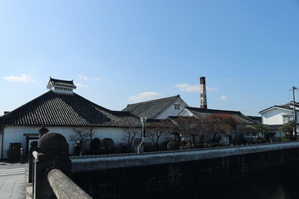 Mameda Town, Hita, Oita, Japón