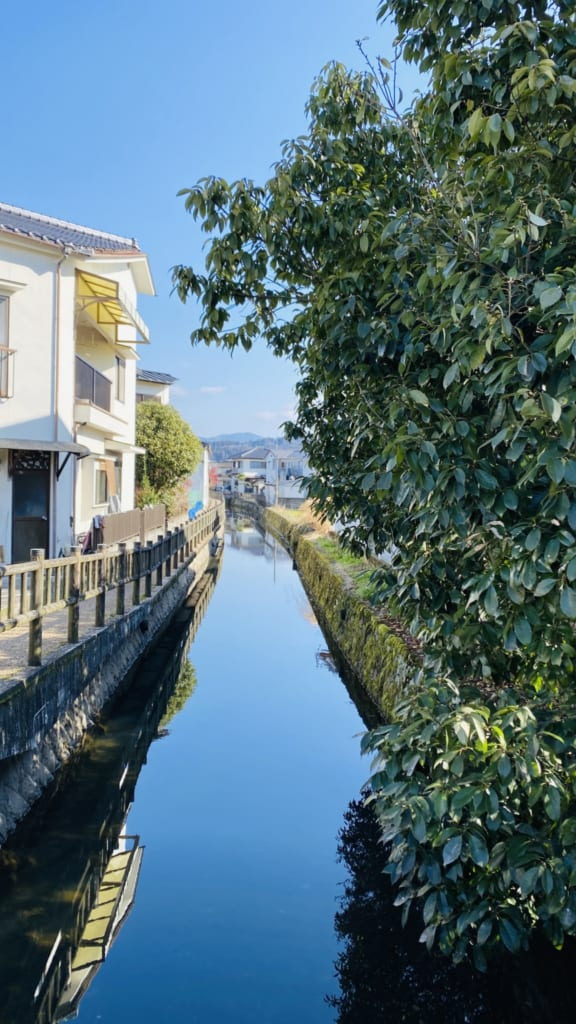 Ríos de Mameda Town, Hita, Oita, Japón