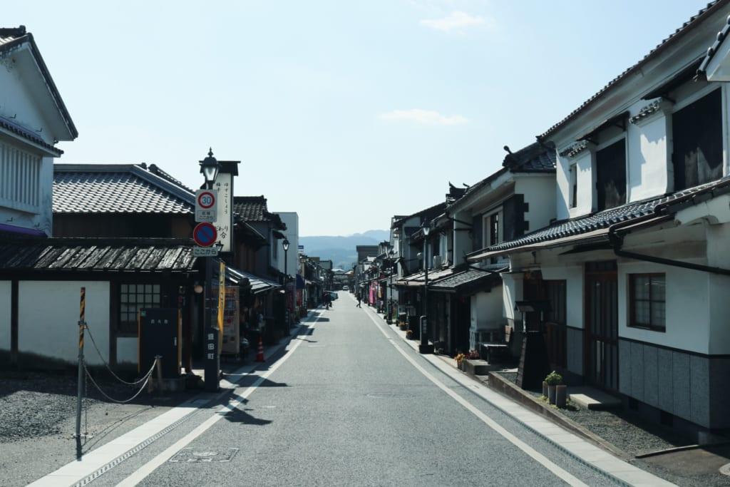Mameda Town, Oita, Japón