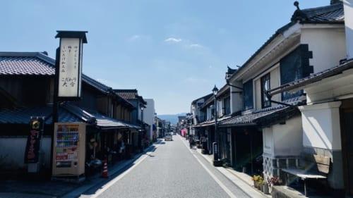 Calle central en Mameda Town