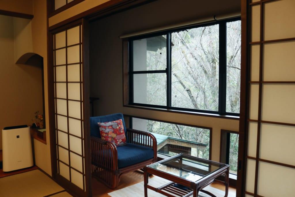habitación del ryokan Tensui
