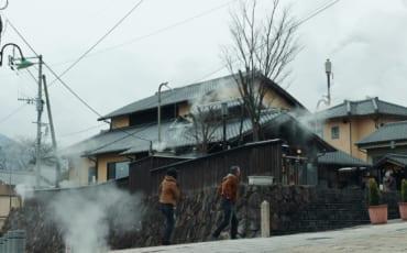 calles humeantes de Beppu, Oita, Japón