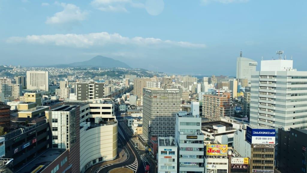 Vistas desde El hotel JR Kyushu Blossom