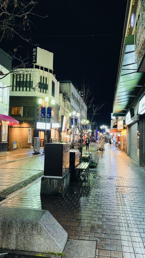 Zona nocturna de Oita