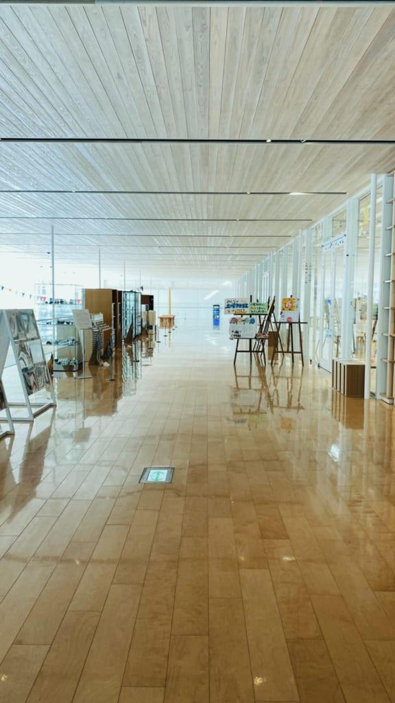 Zona del museo moderno de Oita