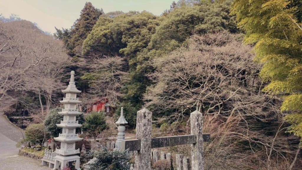 El templo japonés Futagoji en la península de Kunisaki