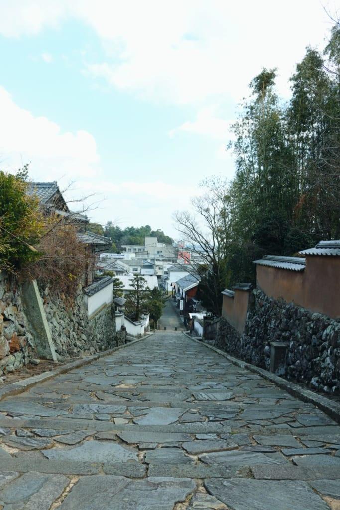 ciudad samurai de Kitsuki, península de Kunisaki