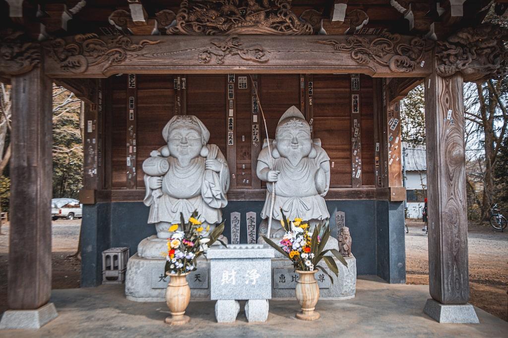 Dioses del templo Jindaiji