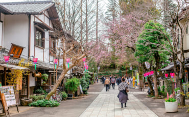 Calle principal Jindaiji