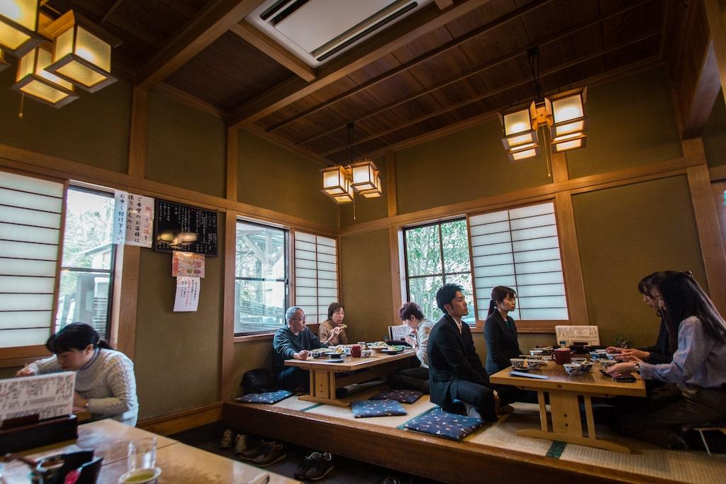 Interior del restaurante Yusui