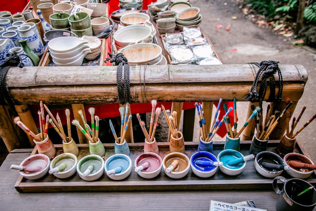 Taller artesanal de Jindaiji-Gama