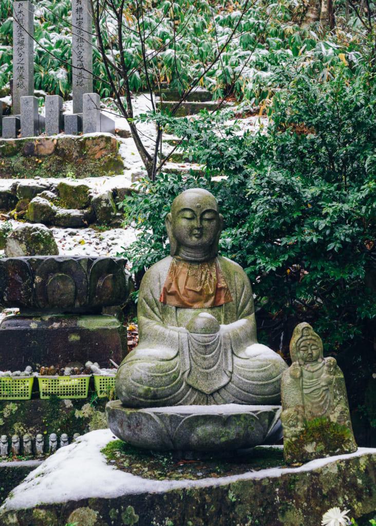 Buda en el templo Daisenji