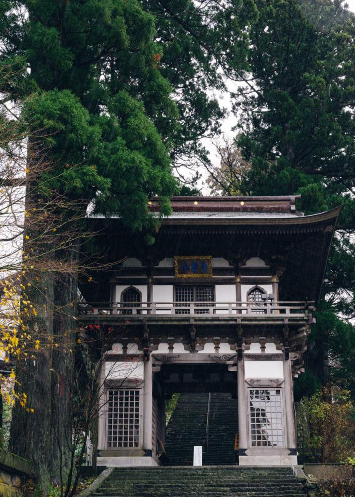 Entrada del templo Daisenji