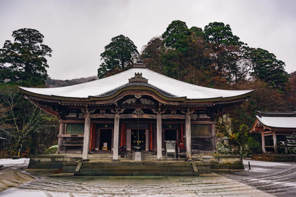 El templo principal del Daisenji