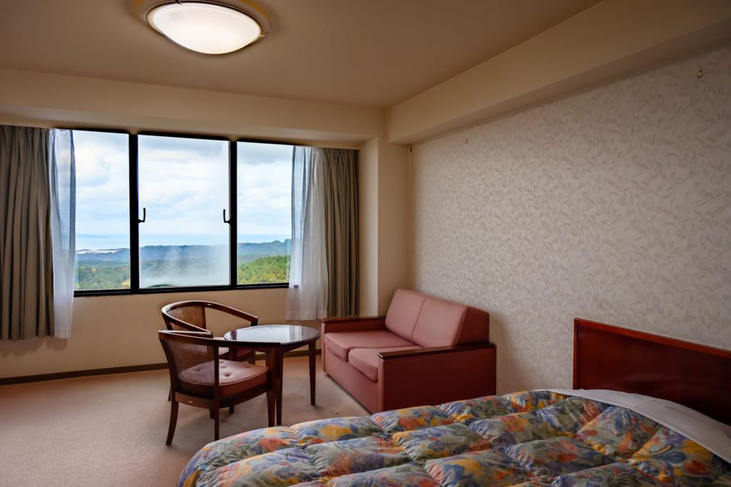 La sala de invitados del Royal Hotel Daisen