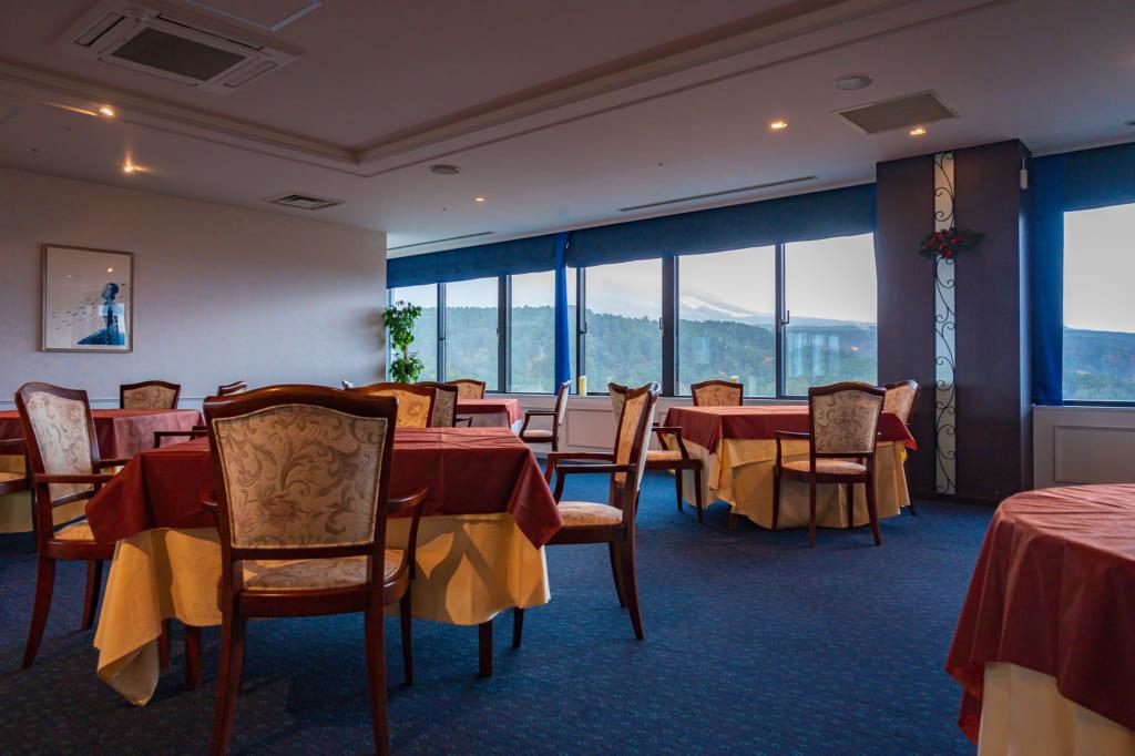 Comedor en el Royal Hotel Daisen