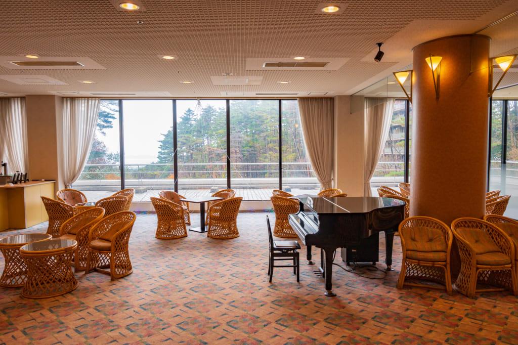 El lobby del Royal Hotel Daisen