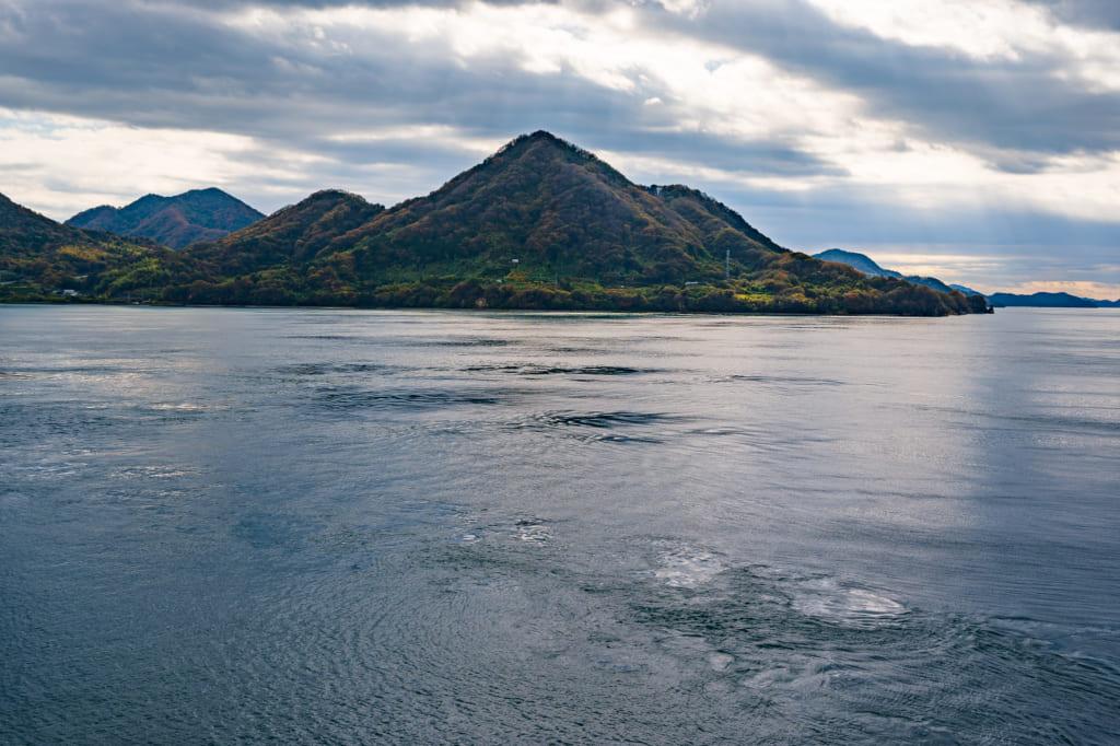 Vistas del paisaje de la isla