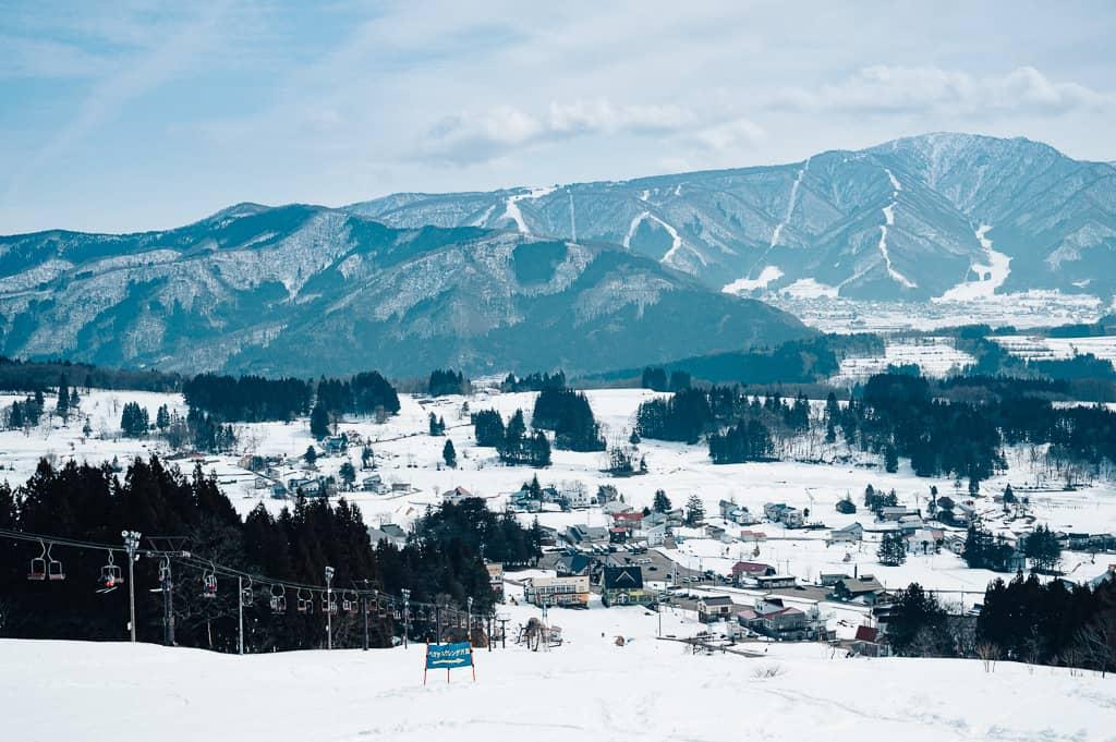 Las increíbles vistas desde la montaña