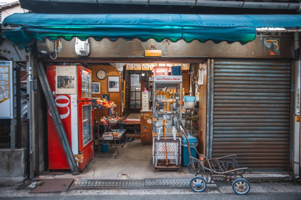 Tienda antigua de Nakazakicho