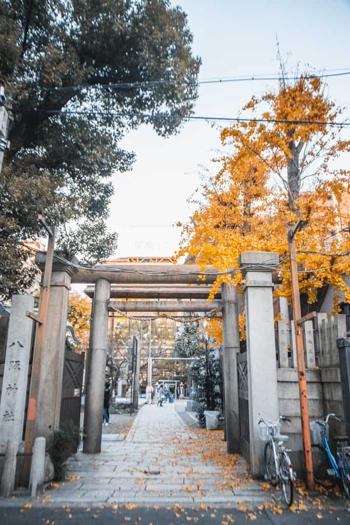 Entrada del santuario