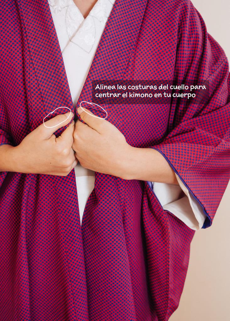 Cómo ponerse un kimono