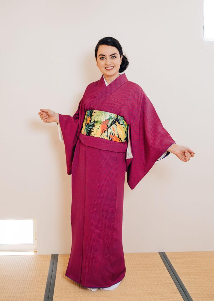 El hanhaba obi con la modelo