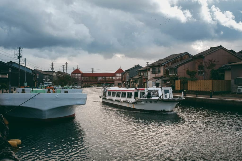 "The Uchikawa district of Takaoka city is the ""Little Venice of Japan"""