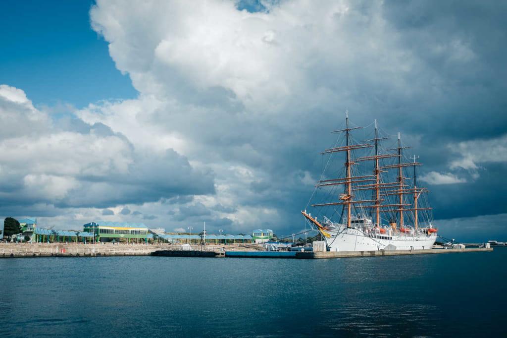 El barco Kaiwomaru.