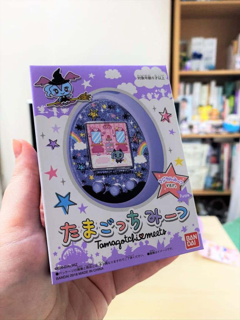 Caja Tamagotchi meets magical, producto de HobbyLink Japan.