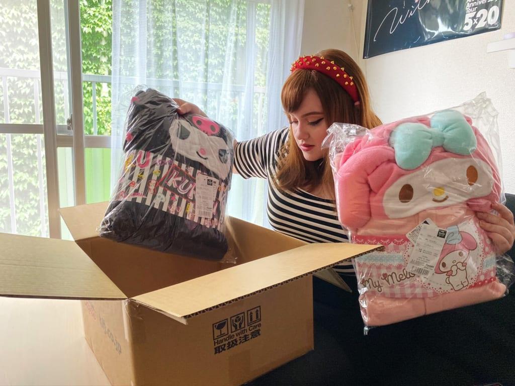 Recibiendo los paquetes de HobbyLink Japan