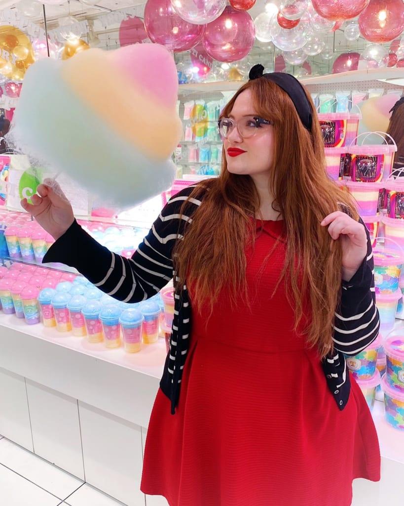 Algoón de azúcar de colores