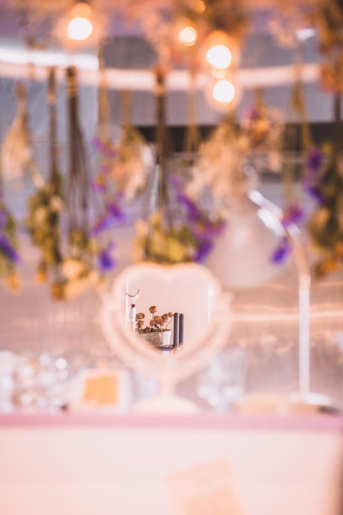 Detalle de espejo cafeteria Pico Latte