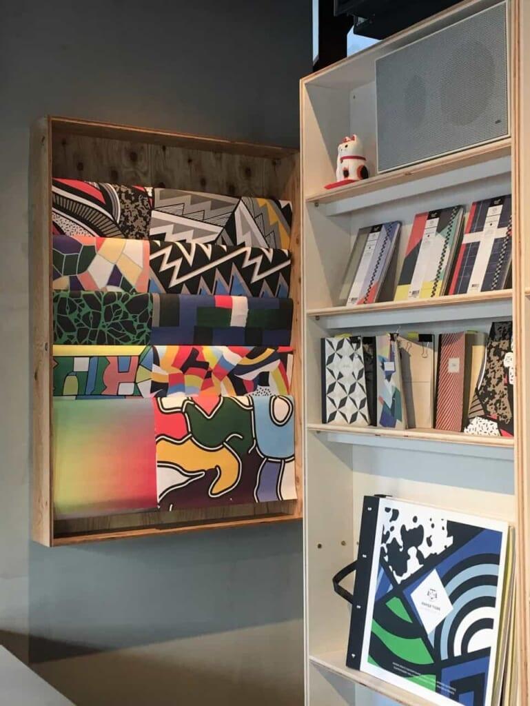 Diseños varios en Papier Tigre, Tokio, Japón