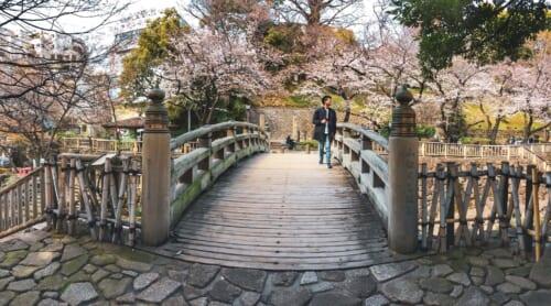 Puente sobre Otonashi Water Park