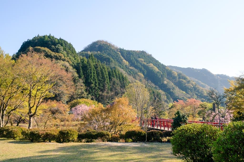 Preciosos paisajes en el Keiseki Park