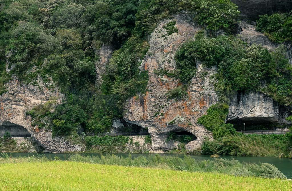 los acantilados de Hon-Yabakei