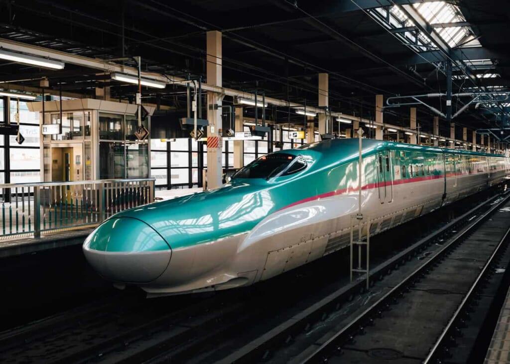 El shinkansen, uno de los métodos de transporte más ecológicos en Japón