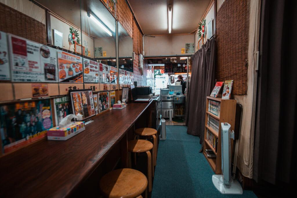 Interior de Takoyaki Tamaya