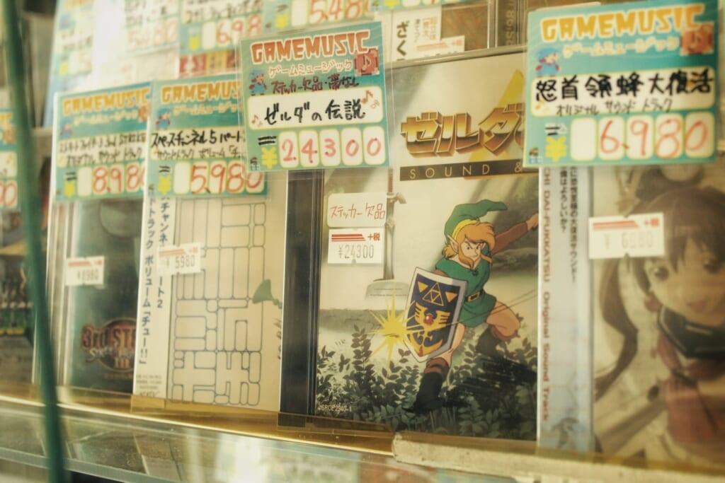 Un juego de Zelda en los escapartes de Den Den Town