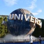 El icono famoso de Universal Studios Japan