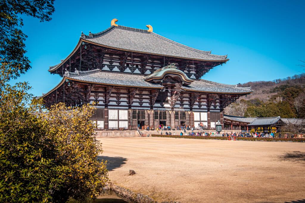 exterior del templo todaiji