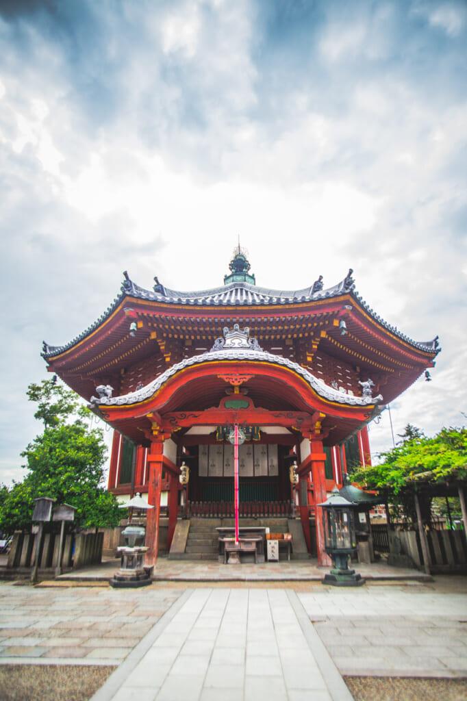 edificio del templo kofukuji