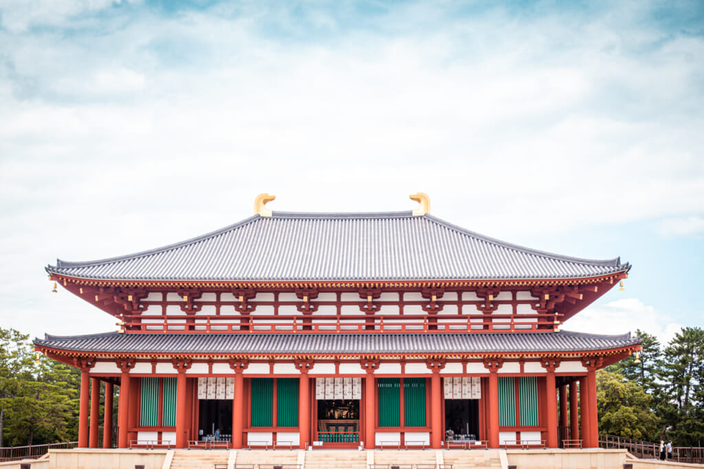 pabellón principal del templo kofukuji