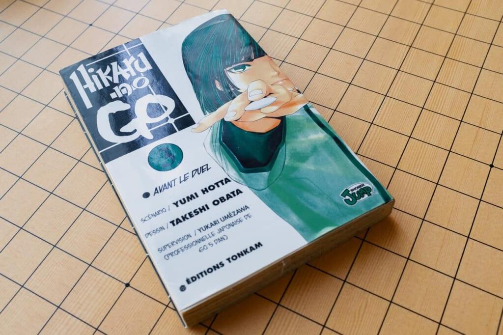 Un manga dedicado al Go