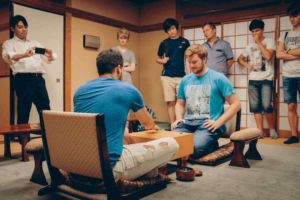 Una estadia de verano del Go en Nihon Ki-in