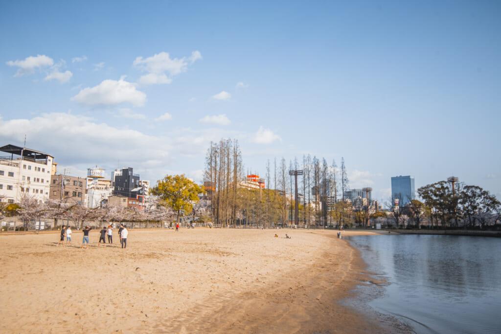 playa artificial de sakuranomiya