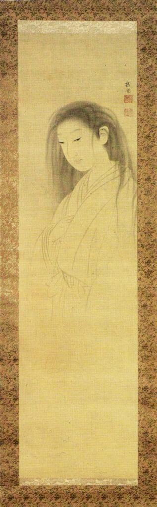 La pintura creada por  Maruyama Okyo