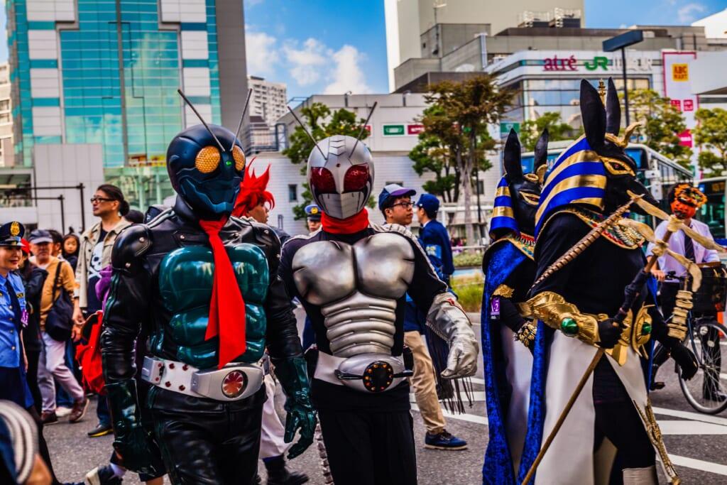 Desfile de Halloween en Kawasaki