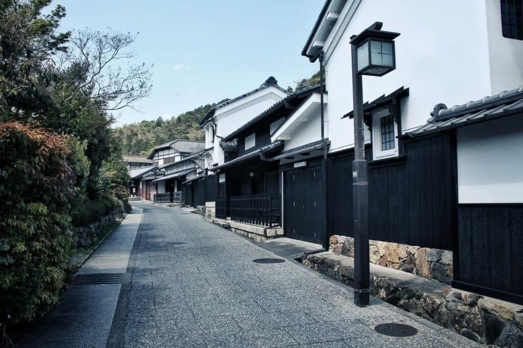 Calles tradicionales de Saga Toriimoto